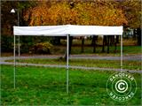 Gazebo rapido FleXtents® Xtreme 50 Exhibition 3x3m, Bianco, Ritardante di Fiamma - 8
