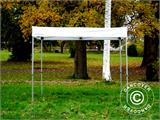 Gazebo rapido FleXtents® Xtreme 50 Exhibition 3x3m, Bianco, Ritardante di Fiamma - 9