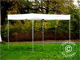 Gazebo rapido FleXtents® Xtreme 50 Exhibition 3x3m, Bianco, Ritardante di Fiamma - 10
