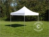 Pop up gazebo FleXtents PRO 3x3 m White, Flame retardant - 3