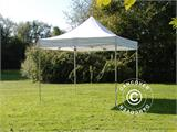 Pop up gazebo FleXtents PRO 3x3 m White, Flame retardant - 4