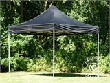 Pop up gazebo FleXtents PRO 3x3 m Black, Flame retardant - 2
