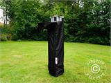 Pop up gazebo FleXtents Xtreme 50 3x3 m Black, Flame retardant - 9