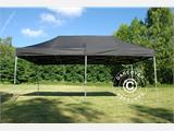 Quick-up telt FleXtents PRO 3x6m Svart, Flammehemmende - 1