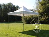 Vouwtent/Easy up tent FleXtents PRO 4x4m Wit, Vlamvertragende - 1