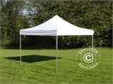Vouwtent/Easy up tent FleXtents PRO 4x4m Wit, Vlamvertragende - 2