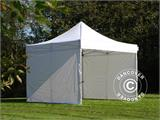 Pop up gazebo FleXtents Xtreme 50 4x4 m White, Flame retardant, incl. 4 sidewalls - 1