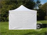 Pop up gazebo FleXtents Xtreme 50 4x4 m White, Flame retardant, incl. 4 sidewalls - 5