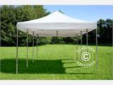 Carpa plegable FleXtents PRO 4x6m Blanco, Ignífuga - 1
