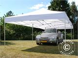 Pop up gazebo FleXtents PRO 4x8 m White, Flame retardant, incl. 6 sidewalls - 5