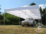 Pop up gazebo FleXtents Xtreme 50 4x8 m White, Flame retardant, incl. 6 sidewalls - 6
