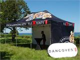 Pop up gazebo FleXtents PRO with full digital print, 4x6 m, incl. 4 sidewalls - 1