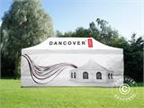 Pop up gazebo FleXtents PRO with full digital print, 4x6 m, incl. 4 sidewalls - 14