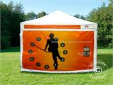 Pop up gazebo FleXtents PRO with full digital print, 4x6 m, incl. 4 sidewalls - 17