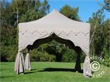 "Carpa plegable FleXtents PRO ""Raj"" 3x3m Latte/Naranja - 3"