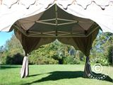 "Carpa plegable FleXtents PRO ""Raj"" 3x3m Latte/Naranja - 4"