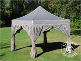 "Carpa plegable FleXtents PRO ""Raj"" 3x3m Latte/Naranja - 11"