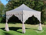 "Carpa plegable FleXtents PRO ""Raj"" 3x3m Latte/Naranja - 17"