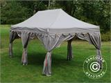 "Pop up gazebo FleXtents PRO ""Raj"" 3x6 m Latte/Orange - 1"
