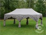 "Pop up gazebo FleXtents PRO ""Raj"" 3x6 m Latte/Orange - 4"