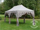 "Pop up gazebo FleXtents PRO ""Raj"" 3x6 m Latte/Orange - 6"