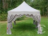 "Pop up gazebo FleXtents PRO ""Raj"" 3x6 m Latte/Orange - 7"