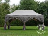 "Pop up gazebo FleXtents PRO ""Raj"" 3x6 m Latte/Orange - 8"
