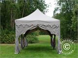"Pop up gazebo FleXtents PRO ""Raj"" 3x6 m Latte/Orange - 9"