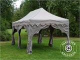 "Pop up gazebo FleXtents PRO ""Raj"" 3x6 m Latte/Orange - 10"