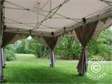 "Pop up gazebo FleXtents PRO ""Raj"" 3x6 m Latte/Orange - 12"