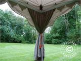 "Pop up gazebo FleXtents PRO ""Raj"" 3x6 m Latte/Orange - 13"