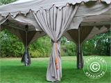 "Pop up gazebo FleXtents PRO ""Raj"" 3x6 m Latte/Orange - 14"