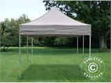 Carpa plegable FleXtents PRO 3x6m Latte, Incl. 6 lados - 5