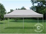 Carpa plegable FleXtents PRO 3x6m Latte, Incl. 6 lados - 6