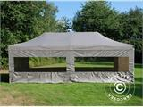 Carpa plegable FleXtents PRO 4x8m Latte, incl. 6 lados - 1