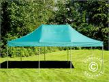 Vouwtent/Easy up tent FleXtents PRO 4x6m Groen, inkl. 8 Zijwanden - 3
