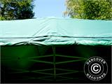 Vouwtent/Easy up tent FleXtents PRO 4x6m Groen, inkl. 8 Zijwanden - 11