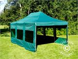 Vouwtent/Easy up tent FleXtents PRO 4x6m Groen, inkl. 8 Zijwanden - 16