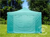 Vouwtent/Easy up tent FleXtents PRO 4x6m Groen, inkl. 8 Zijwanden - 23