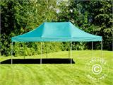 Vouwtent/Easy up tent FleXtents PRO 4x6m Groen, inkl. 8 Zijwanden - 24