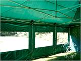 Vouwtent/Easy up tent FleXtents PRO 4x6m Groen, inkl. 8 Zijwanden - 28
