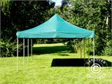 Pop up gazebo FleXtents Xtreme 50 4x6 m Green, incl. 8 sidewalls - 19