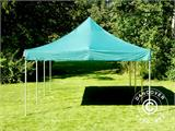 Pop up gazebo FleXtents Xtreme 50 4x6 m Green, incl. 8 sidewalls - 20