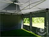 Pop up gazebo FleXtents PRO 4x6 m Grey, incl. 8 sidewalls - 2