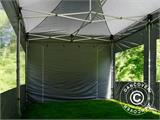 Pop up gazebo FleXtents PRO 4x6 m Grey, incl. 8 sidewalls - 3