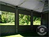 Pop up gazebo FleXtents PRO 4x6 m Grey, incl. 8 sidewalls - 4