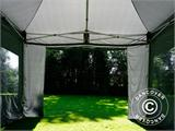 Pop up gazebo FleXtents PRO 4x6 m Grey, incl. 8 sidewalls - 5