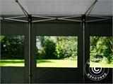 Pop up gazebo FleXtents PRO 4x6 m Grey, incl. 8 sidewalls - 6
