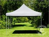 Pop up gazebo FleXtents PRO 4x6 m Grey, incl. 8 sidewalls - 14