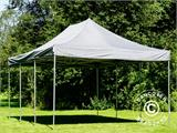 Pop up gazebo FleXtents PRO 4x6 m Grey, incl. 8 sidewalls - 15